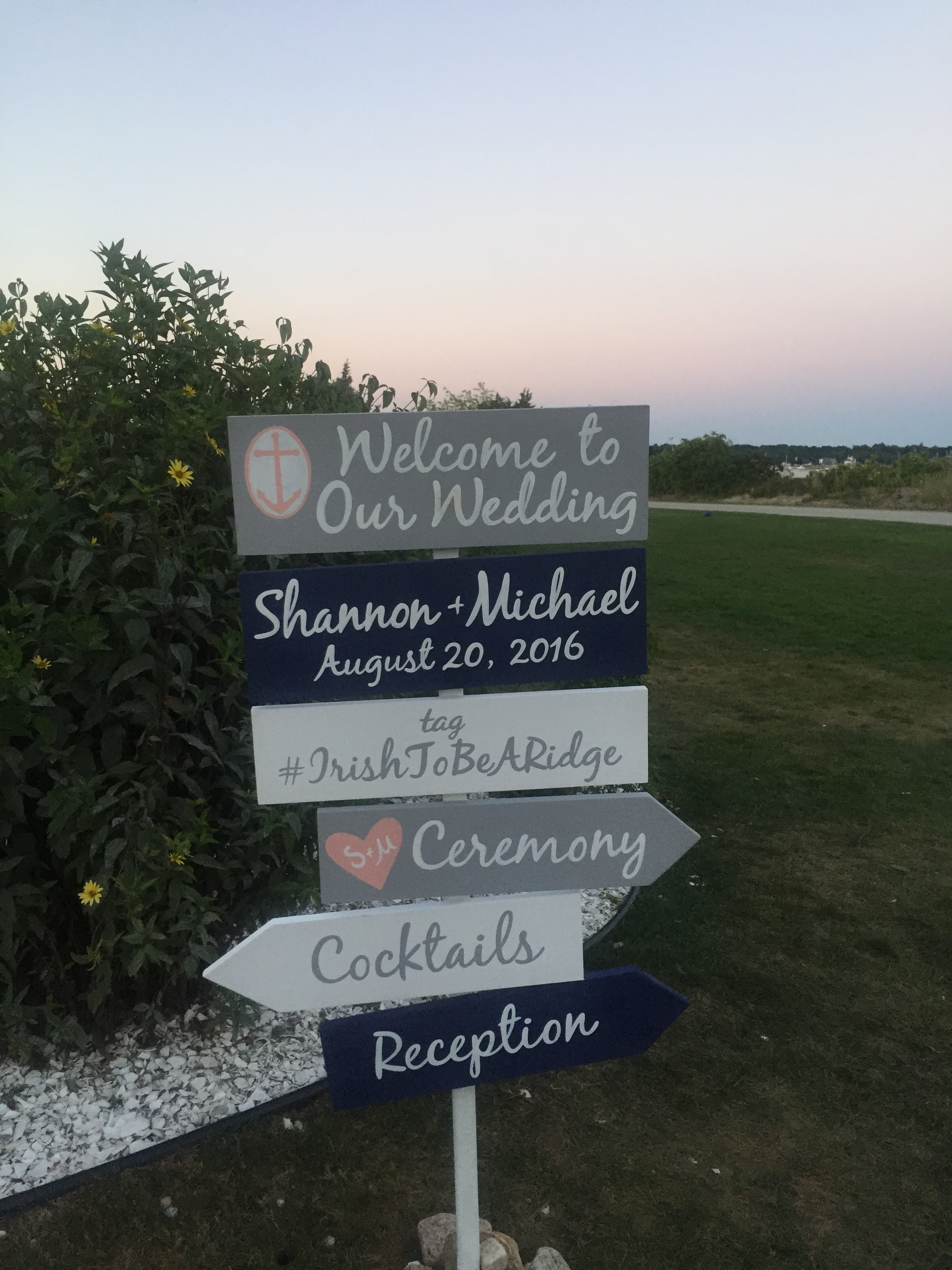 welcome wedding directions